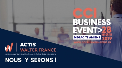 ACTIS au salon de la CCI Business Event